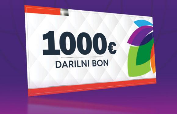 OSVOJITE 1000 €