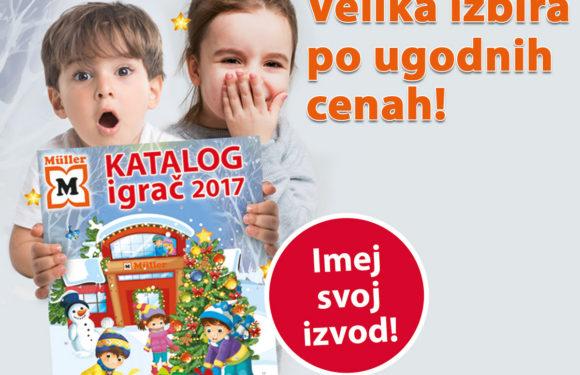SEDAJ v Müllerju več kot 700 igrač po znižani ceni!