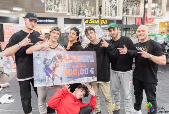 6. Mednarodno tekmovanje v Break Dance plesih, 3.3.