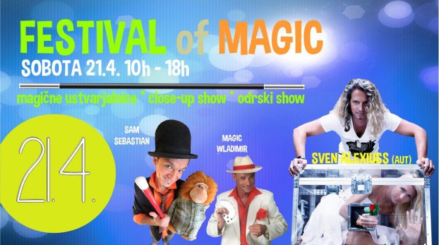 Festival Magije v Park Centru Koper, 21.4.