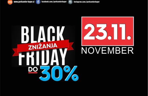 Črni petek – popusti do -30%