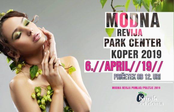 Modna revija pomlad/poletje v Park Centru koper