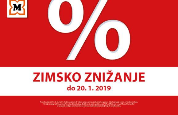 % ZIMSKO ZNIŽANJE V MÜLLERJU %