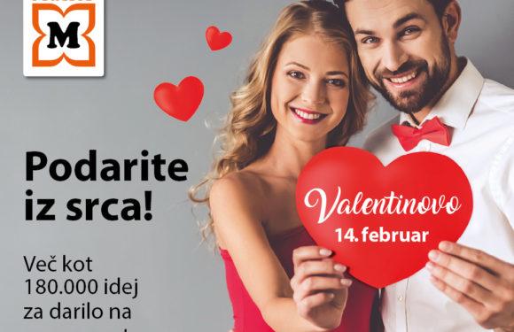 Valentinova ponudba v Müllerju!