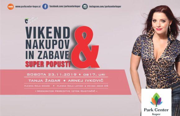 Vikend nakupov in zabave s Tanjo Žagar
